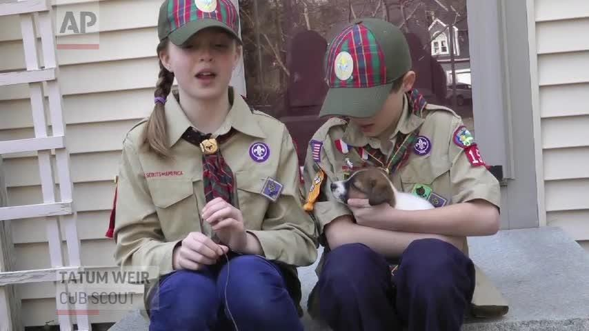 Thousands of girls across U S  become Cub Scouts