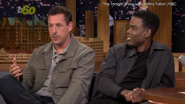 Adam Sandler FaceTimes his friend Justin Bieber