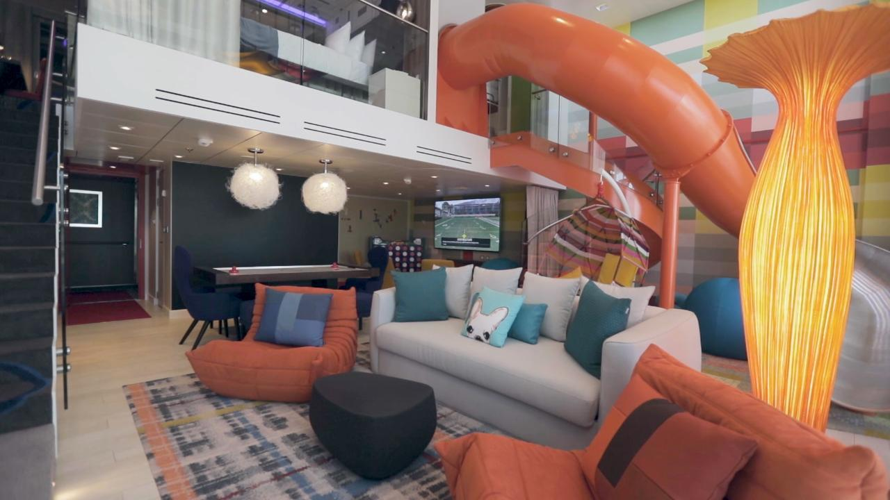 Video The Super Sized Family Suite On Worlds Largest Cruise Ship