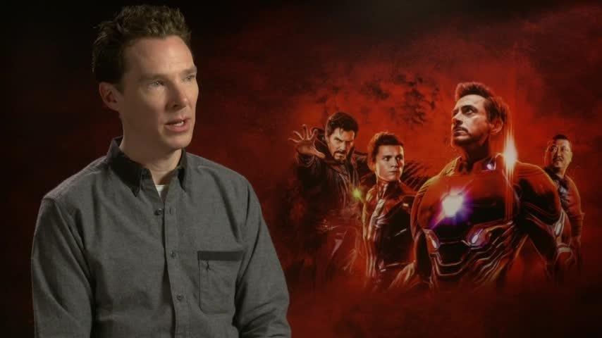"Benedict ""Doctor Strange"" Cumberbatch and Sebastian ""Winter Soldier"" Stan pick alternate roles in the Marvel Cinematic Universe. (April 26)"