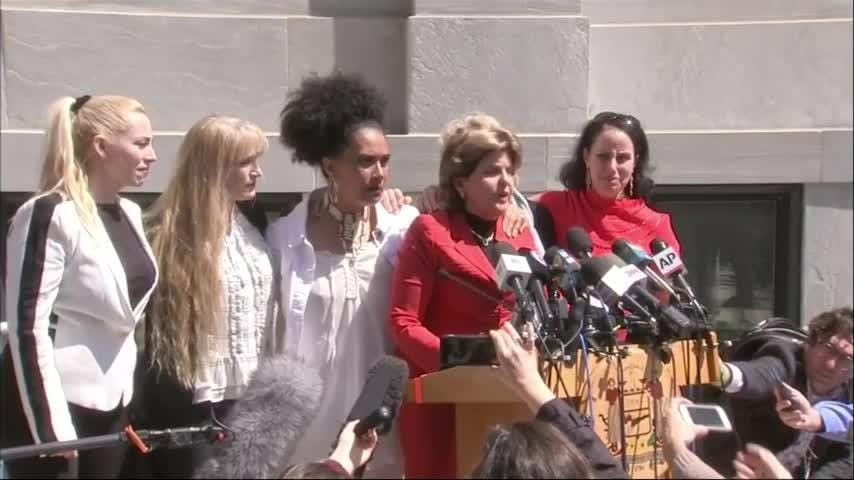 "Bill Cosby was convicted Thursday of drugging and molesting a woman in the first big celebrity trial of the #MeToo era. Gloria Allred, who represents some of the women speaking out against Cosby, said, ""justice has been done."" (April 26)"