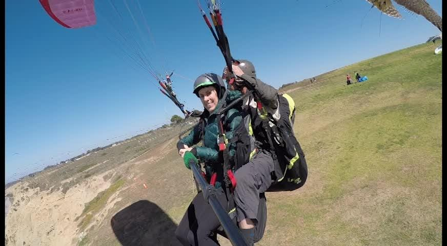 Torrey Pines State Reserve in San Diego is known for having some of the most epic and consistent flying conditions on the planet. Fly With a Bird (flywithabird.com) is the only company in the nation that offers parahawking to the public.