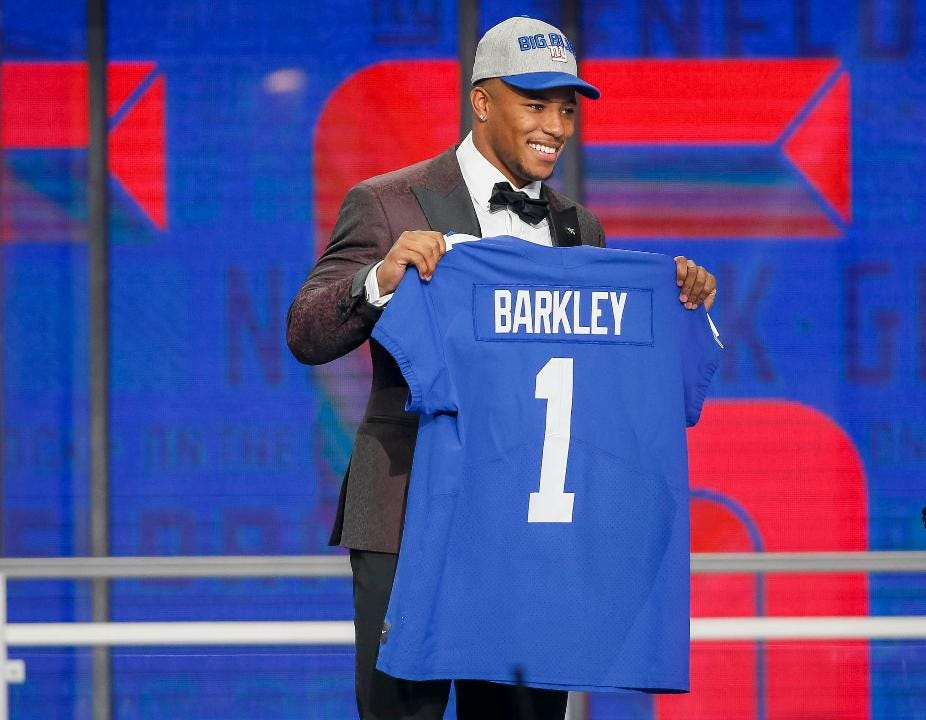 Saquon Barkley To Giants Fans I M Coming Home