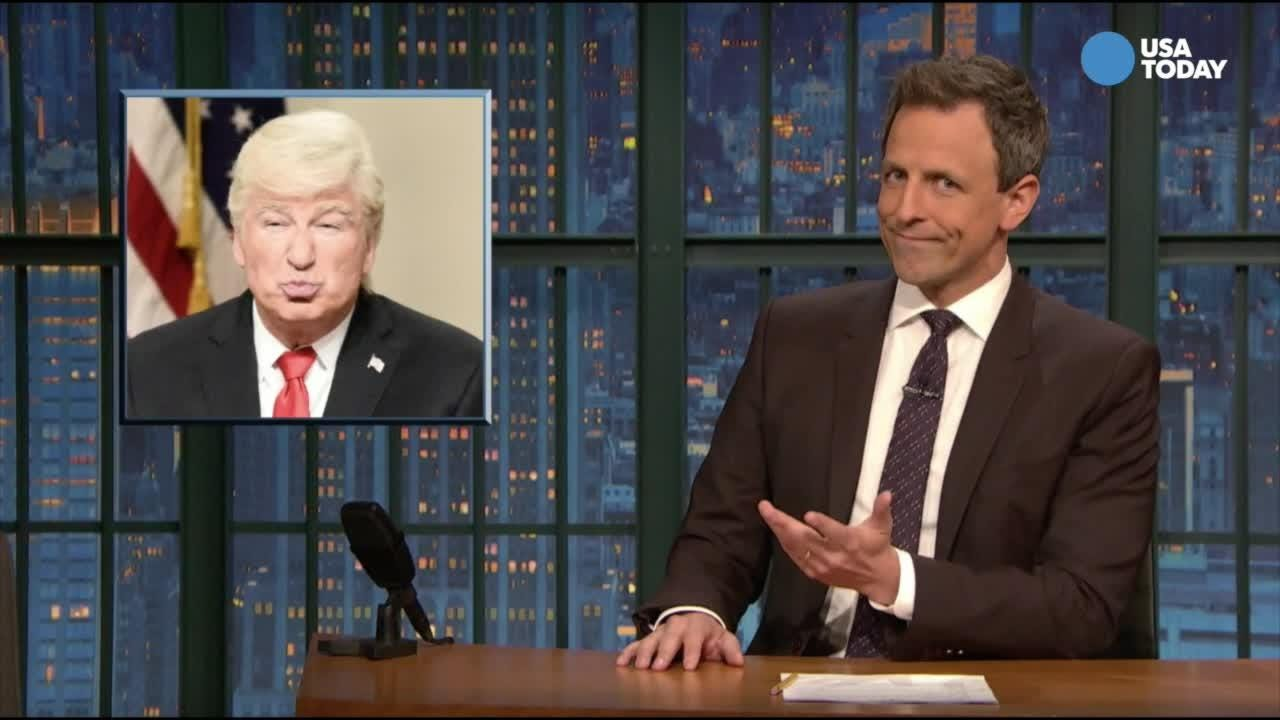 Another odd week in politics for Donald Trump. We take a look. After you watch our favorite jokes, vote for yours at usatoday.com/opinion.