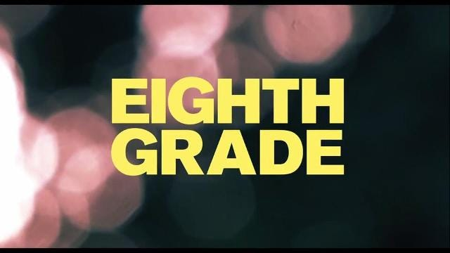 Eighth Grade, a coming-of-age story, captures the experience of middle school in a true-to-life fashion. It deals with the issues of  fitting in.