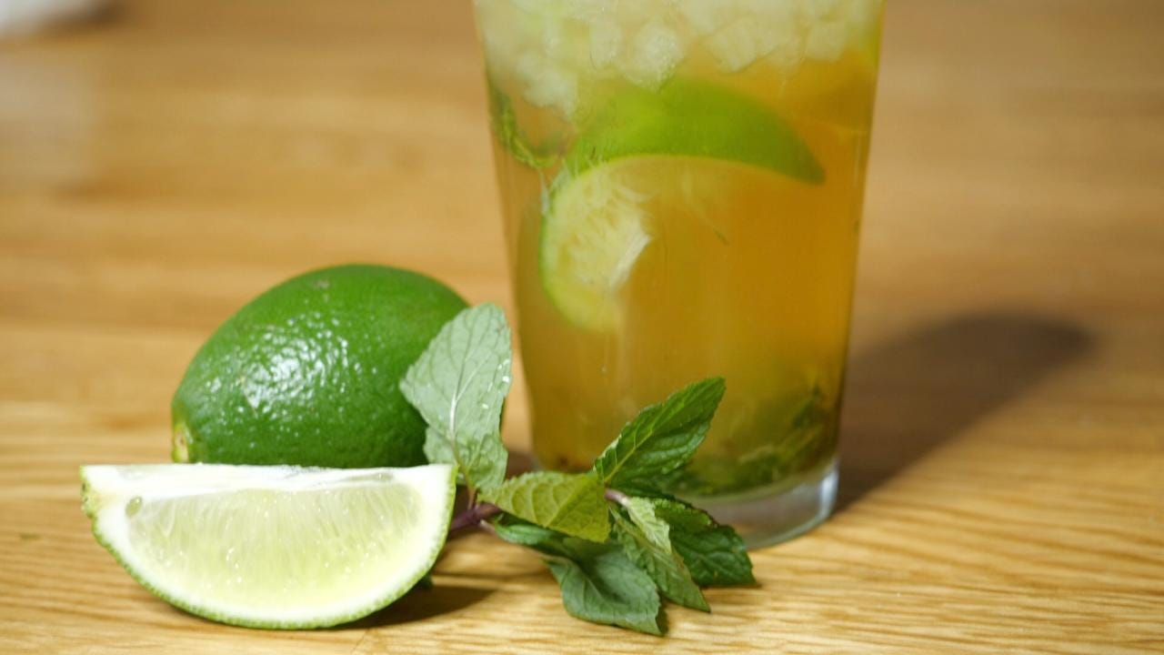 how to make a mint julep drink