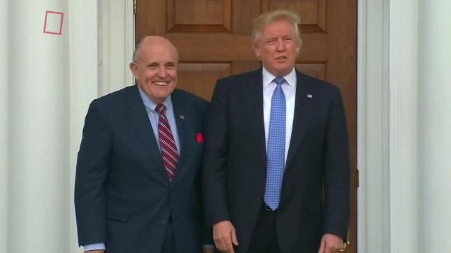 Rudy Giuliani won't rule out Trump pleading the Fifth in Russia inquiry