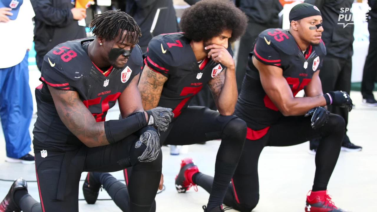 SportsPulse: NFL insider Lindsay H. Jones details the grievance filed by the NFLPA on behalf of Eric Reid and the likelihood of the free agent safety and Colin Kaepernick playing in 2018.