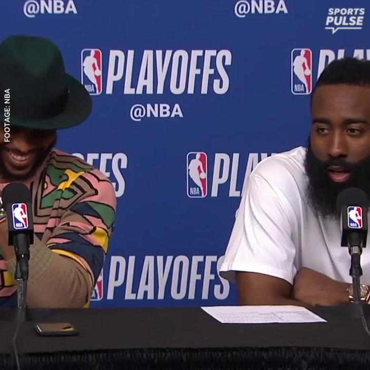 Chris Paul and James Harden look back on Paul's career-best playoff performance in Game 5 and how everything has come together this year to get the Rockets to Western Conference finals.