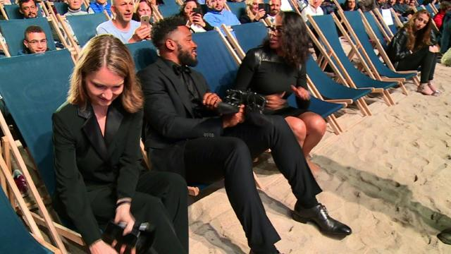 "Cannes Film Festival hosted a late-night ""Black Panther"" beach screening. Video provided by AFP"