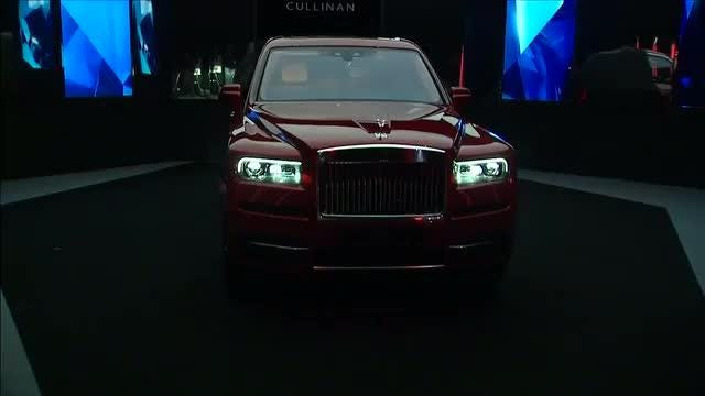 Rolls-Royce launches first ever SUV