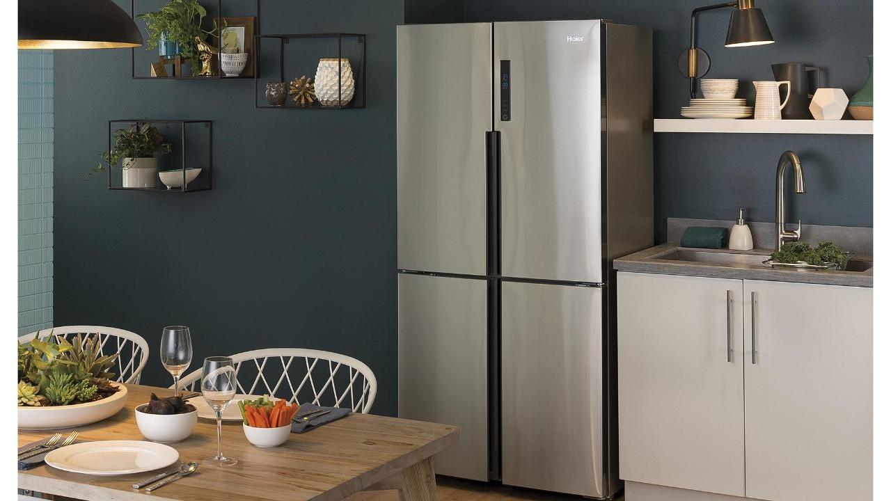 Haier Hrq16n3bgs Counter Depth French Door Refrigerator