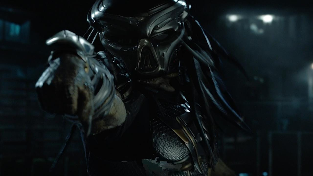 "Sterling K. Brown, Keegan-Michael Key and Olivia Munn star in this fight to save humanity from ""The Predator."" It's the first film in the franchise since 2010."