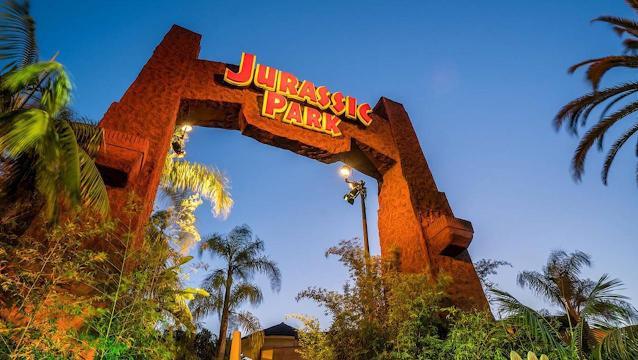 Map Of Universal Studios Florida.Jurassic World Ride Evolves From Jurassic Park At Universal Hollywood