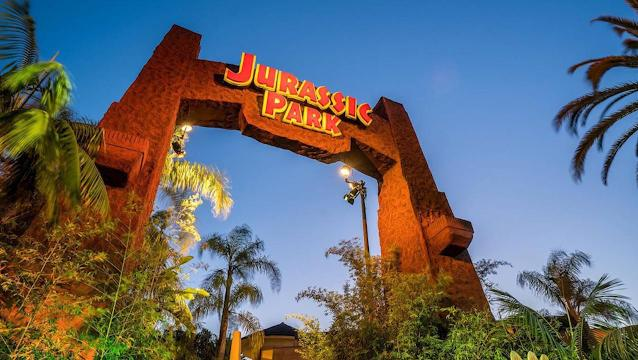 Jurassic World Ride Evolves From Jurassic Park At Universal Hollywood