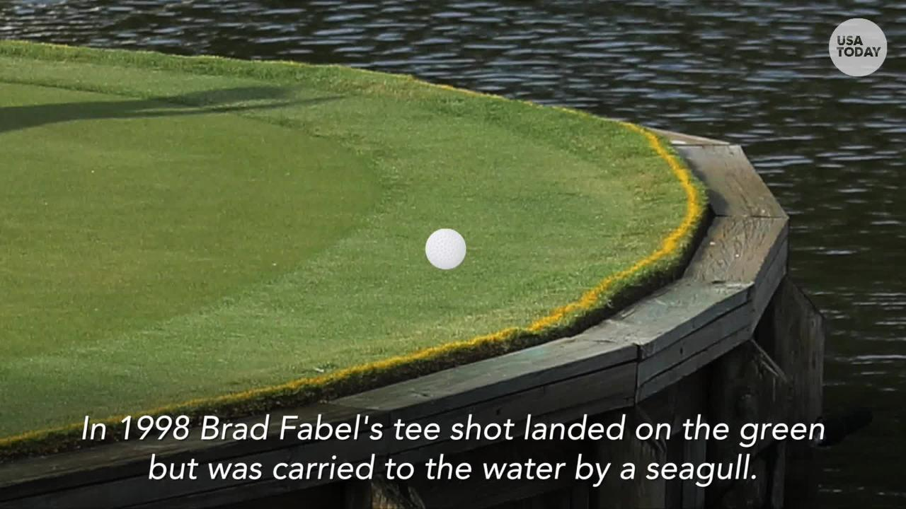 USA TODAY Sports' Larry Berger discusses what makes the 17th island green at TPC at Sawgrass a special hole.
