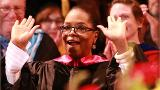Oprah to grads: Put your phone away at the dinner table!