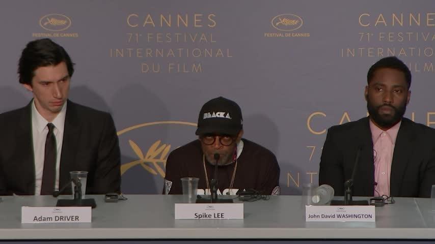 In a passionate, expletive-ridden monologue at Cannes Film Festival, Spike Lee lambasted President Trump over his response to last year's violent white supremacist protest in Charlottesville, Virginia. (May 15)