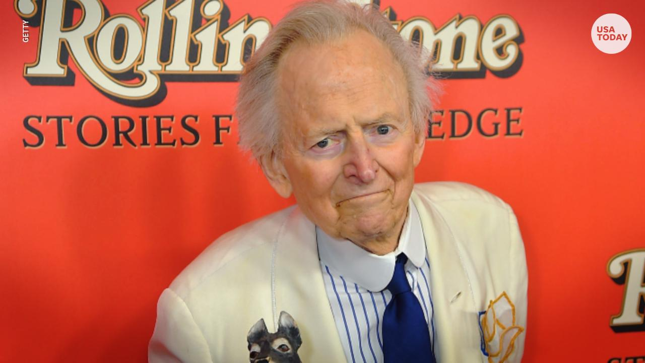 """Best-selling author Tom Wolfe has died at age 88. Wolfe was credited with the emergence of """"New Journalism."""""""