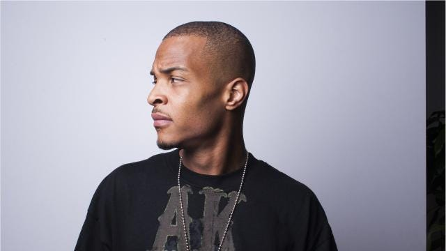 T.I. was arrested Wednesday while trying to get inside his own home in a gated community in Georgia.