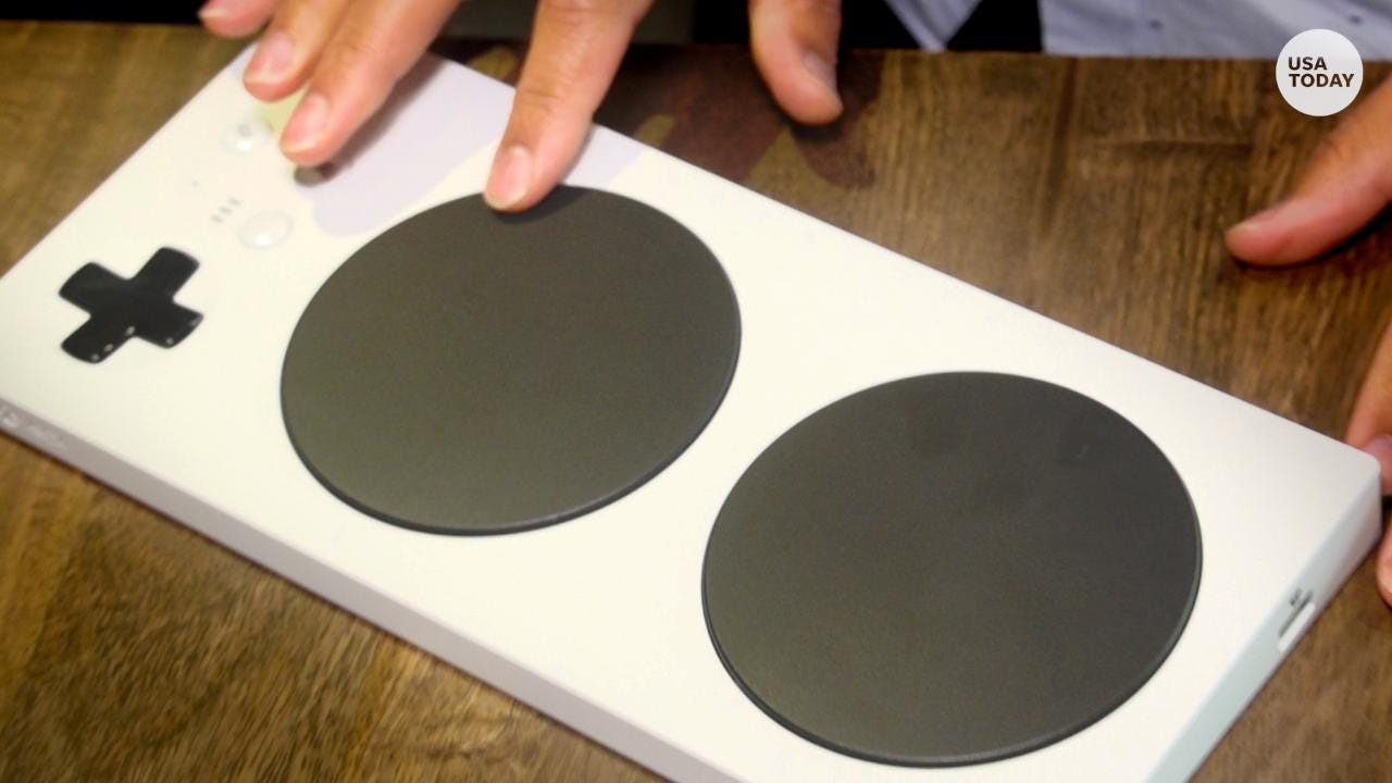 Xbox's latest release, the Adaptive Controller, allows compatibility external joysticks, pedals, switches and buttons.