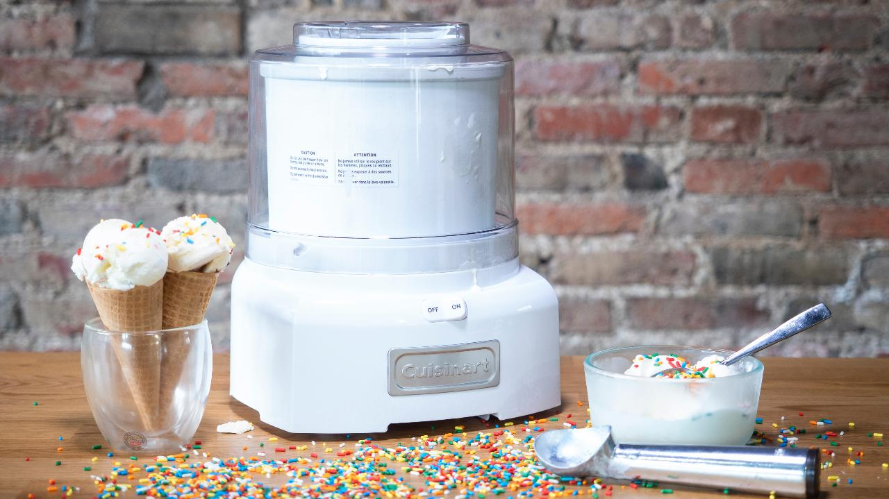 Making ice cream from home isn't too difficult—especially if you use our favorite ice cream maker, the Cuisinart ICE-21.