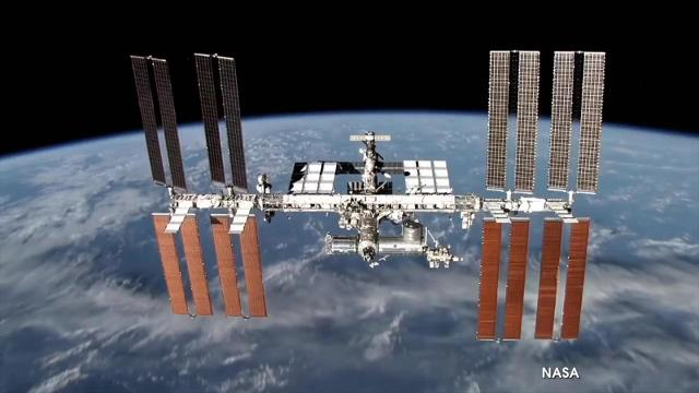 A shipment including lasers, E. coli bacteria and sextants is being delivered to the International Space Station.