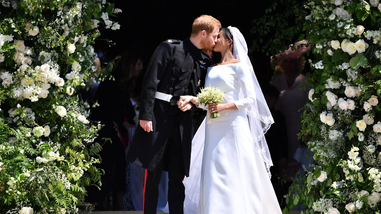 Awww! Duchess Meghan, Prince Harry share never-before-seen wedding photos on first anniversary