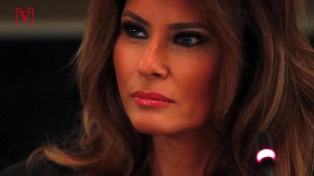 First Lady Melania Trump is back in the White House since she underwent a kidney procedure. Veuer's Maria Mercedes Galuppo has more.