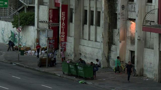 For tens of thousands in Sao Paulo, squatting is only way out.
