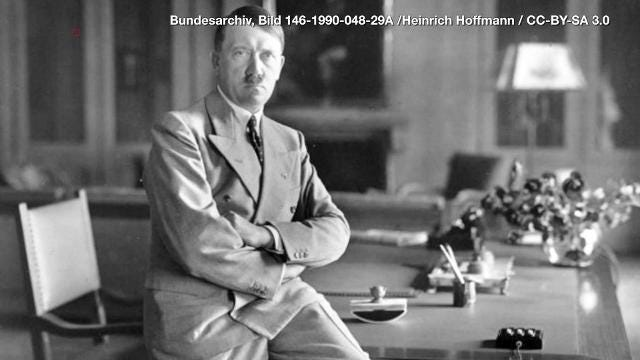 Since Adolf Hitler's body was never shown by the Allies, numerous conspiracy theories arose that he had actually survived the end of WWII.
