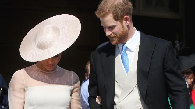The newlyweds glowed at their first post-royal wedding appearance.