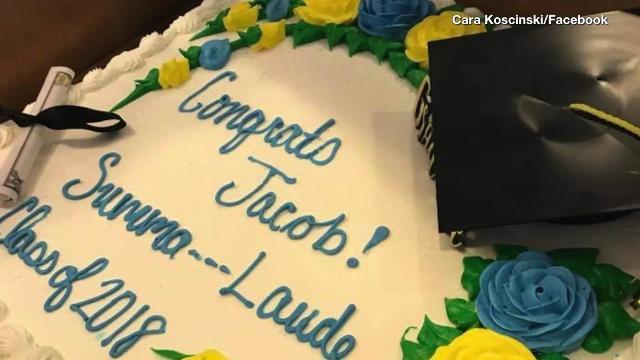 Publix Supermarket In South Carolina Censors High School Graduates Summa Cum Laude Cake