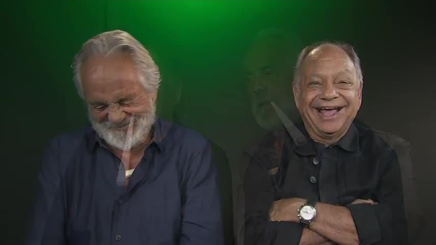 Iconic stoner comedians Cheech and Chong suggest doing your research before buying marijuana for recreational or medicinal purposes. (May 22)