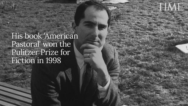 Pulitzer Prize-winning author Philip Roth dies at 85