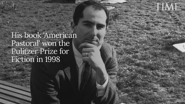 Philip Roth Pulitzer Prize Winning Author And Literary Icon Dies At 85