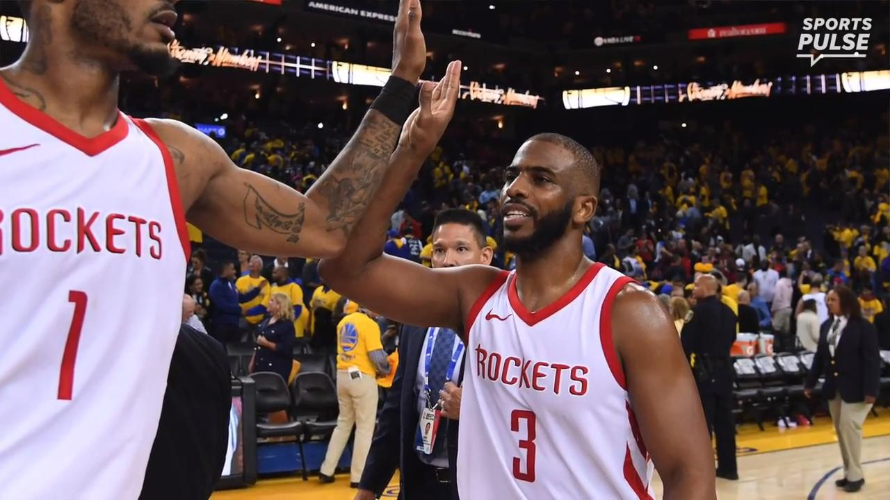 SportsPulse: USA TODAY Sports' Sam Amick breaks down how the Rockets stole Game 4 on the road to even their series with the Warriors at 2-2.