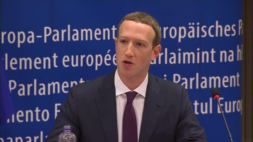Facebook CEO Mark Zuckerberg apologized to European Union lawmakers Tuesday for the way the social network has been used to produce fake news, interfere in elections and sweep up people's personal data.  (May 23)