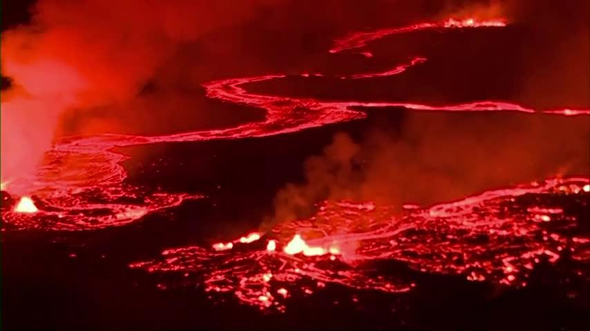 Infrared images reveal damage on Hawaii's Big Island