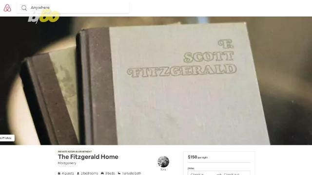 If you think you would've killed it during the Jazz Age, now you can step back in time by staying in a house where F. Scott and Zelda Fitzgerald once lived.