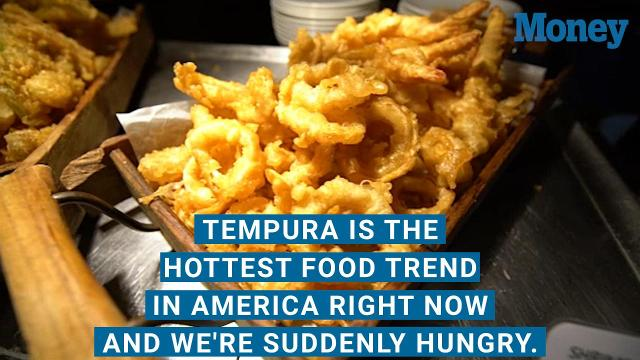 Forget, quinoa. America has a new favorite food. And, yes, it's fried. Tempura is taking over.