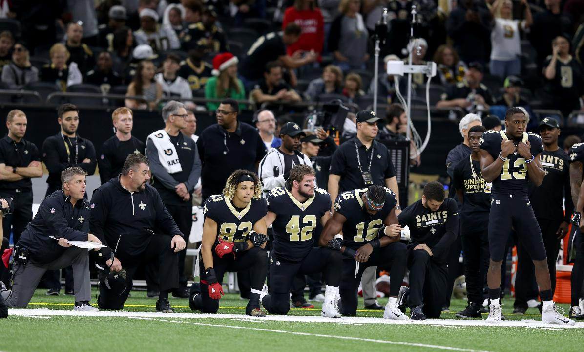 SportsPulse: Trysta Krick says the NFL's new policy on national anthem protests doesn't help anyone but the owners.