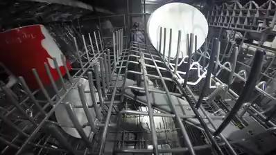 Inside the Bosch Ascenta SHS5AV55UC Dishwasher