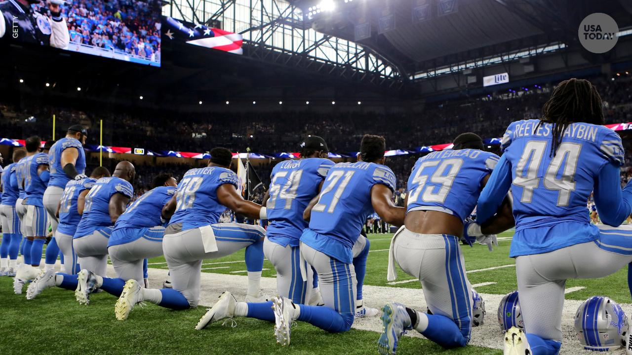 On 'Fox & Friends,' President Donald Trump suggested that players who don't stand for the national anthem might not belong in the country.
