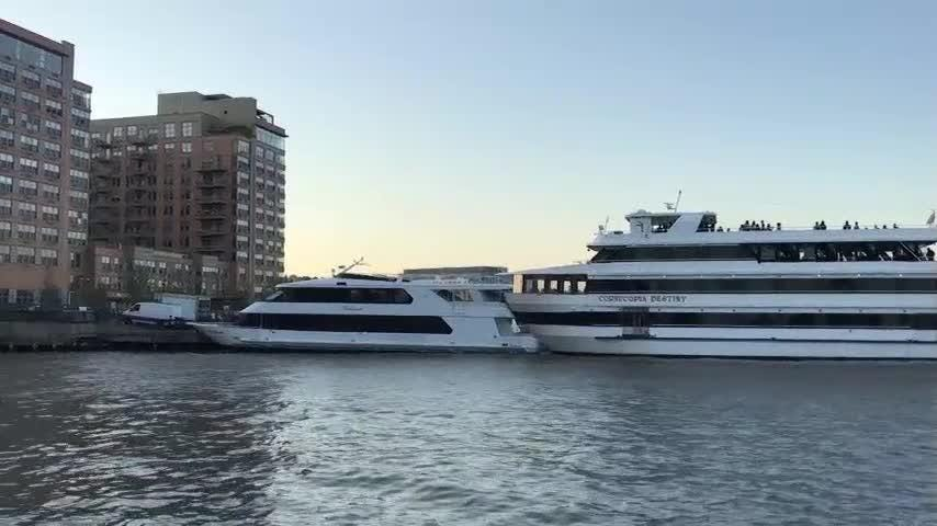 Uh-oh! High school prom yacht collision