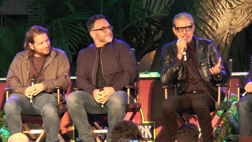 Video: Jeff Goldblum lampooned for shirtless 'Jurassic Park' scene