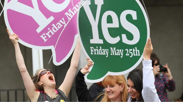 Ireland repeals strict abortion ban in overwhelming vote
