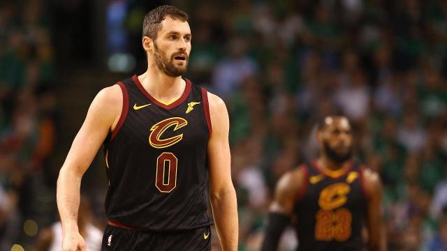 Cleveland forward Kevin Love is in the league concussion protocol and will miss the decisive Game 7 of the Eastern Conference finals in Boston on Sunday.