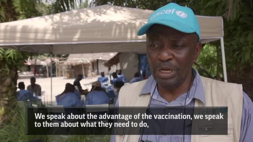 Ebola Vaccinations Underway In Areas Of Congo