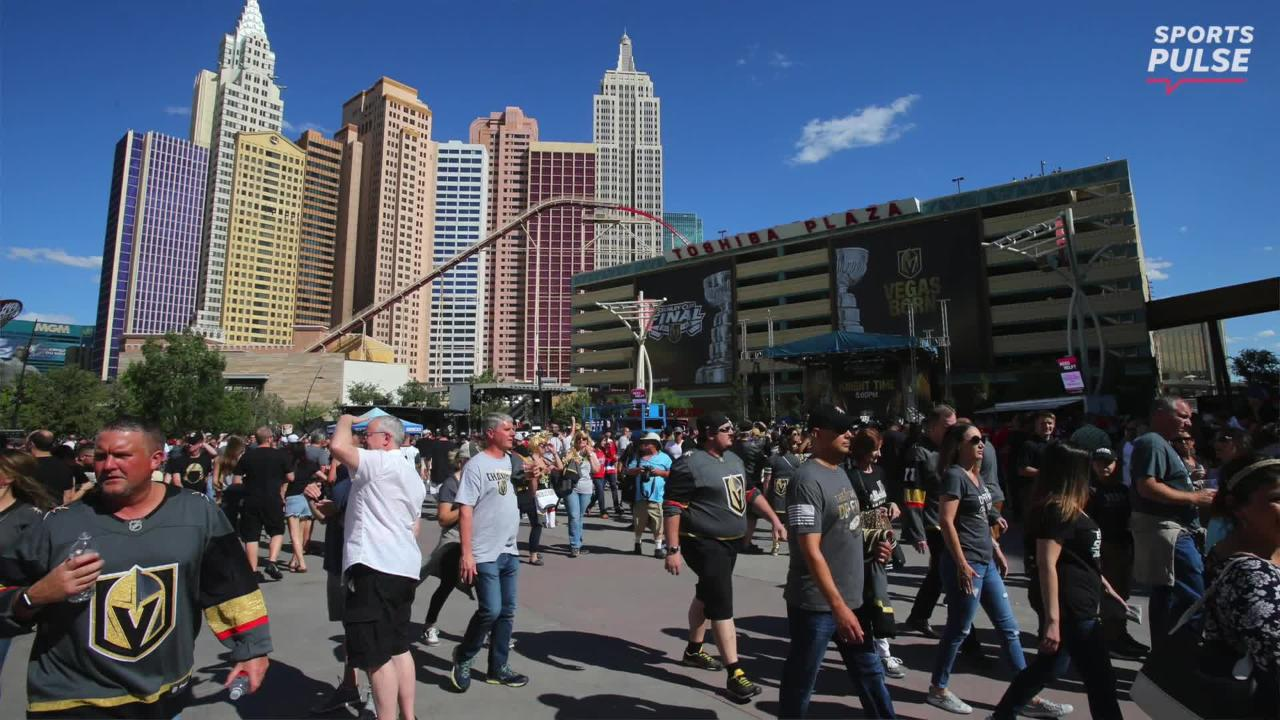 SportsPulse: USA TODAY Sports' Martin Rogers travels to Las Vegas to see just how much the Golden Knights' improbable Stanley Cup run really means to the Vegas faithful.